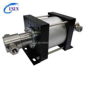 Similar Haskel USUN brand Model: XT16 132 Bar output double acting High pressure pneumatic driven hydraulic booster pump