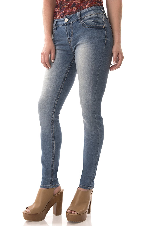 56d605f59f148 Get Quotations · WallFlower Jeans Women s Junior Denim Legendary Skinny Jean