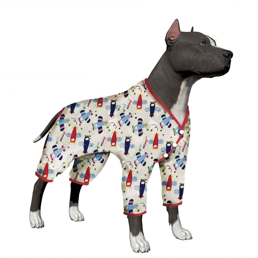 b40439d962 Get Quotations · LovinPet Large Dog Clothes Dog Pajamas Post Surgery Wear  Pitbull Cotton Large Dog Shirt For Labrador