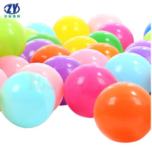 Standard Grade LDPE Pit Ball Plastic Ballsl for kids Play