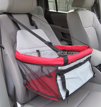 Deluxe Pet Dog Car Booster Seat