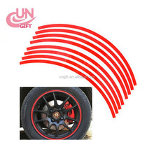 Car road tire reflective car sticker automobile tire modification