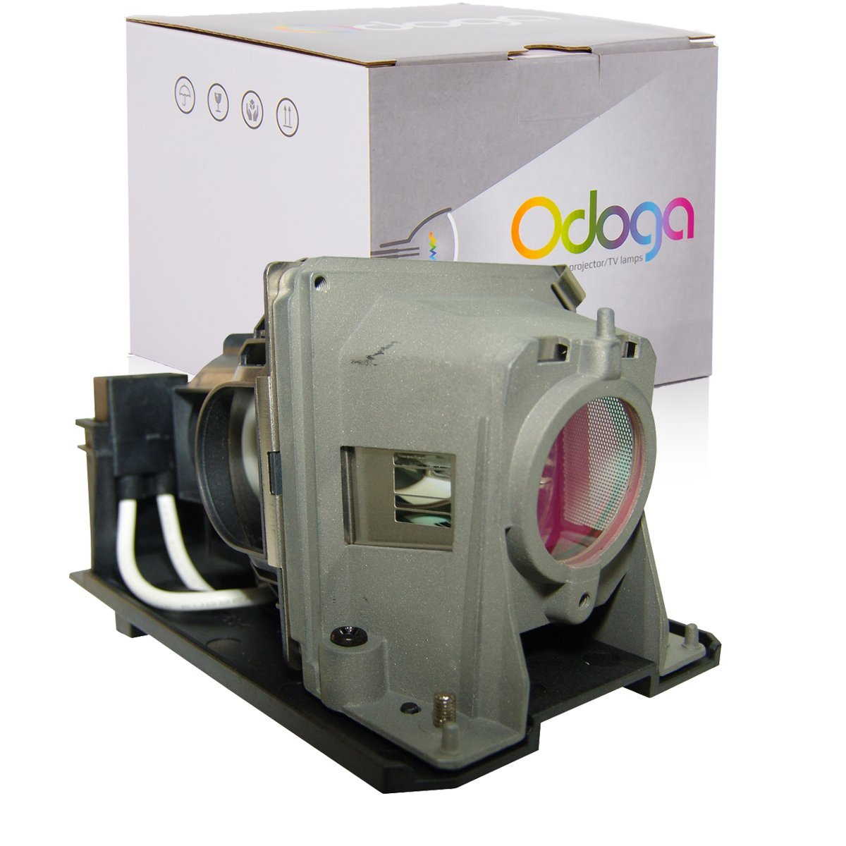 Odoga Nec VE281 VE281X VE282 VE282X NP-VE281 NP-VE281X NP-VE282 NP-VE282X V311W NP215G Compatible Projector Lamp