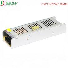 Ультра тонкий DC 12V адаптер питания AC 220V к DC импульсный источник питания 3A 5A 10A 15A 20A 30A трансформатор освещения для светодиодной ленты(Китай)