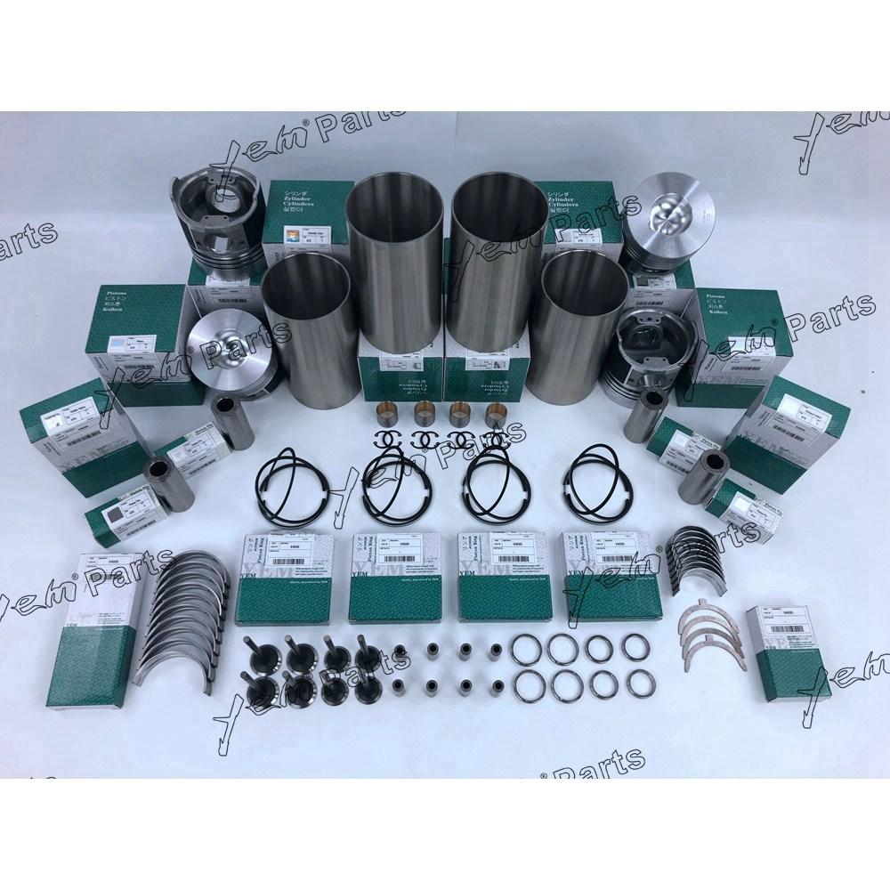 For KUBOTA V4000 piston ring kit engine rebuild kit, View V4000 piston, YEM  Product Details from Guangzhou FuGe Construction Machinery Parts Co , Ltd