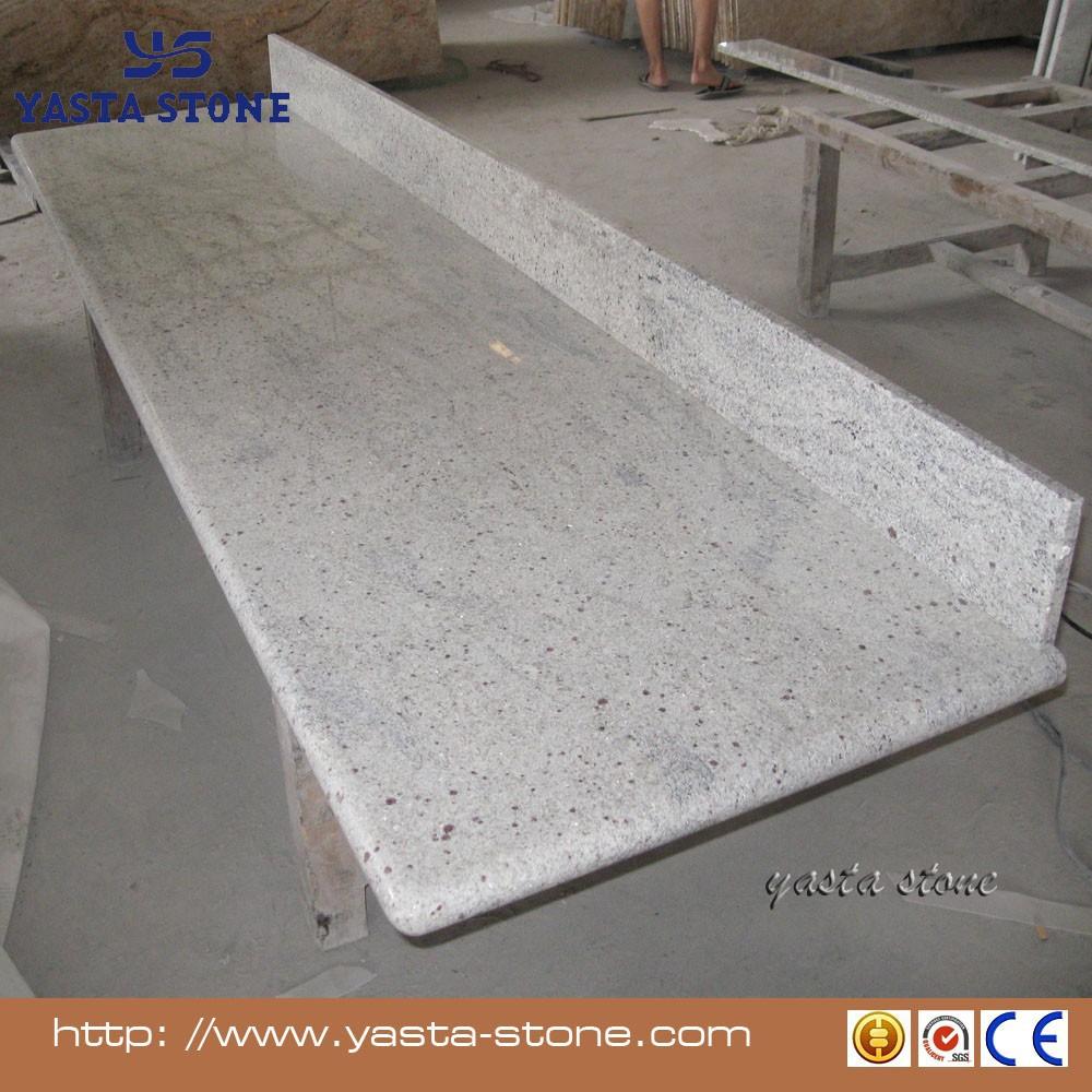 Prefab Kashmir White Kitchen Granite