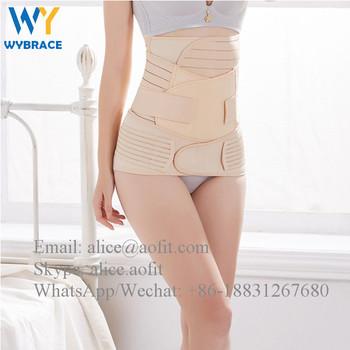 2403e9b6d9d Alibaba China Market Postpartum Belly Wrap Waist Trainer Abdominal Binder