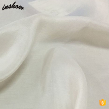 Custom Plain Painting Dye Habotai Scarf Nature White Silk Scarf For Painting