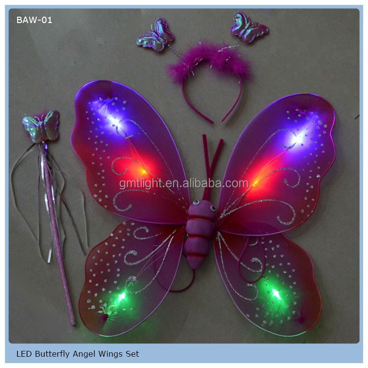 Luminous Butterfly Wings For Party