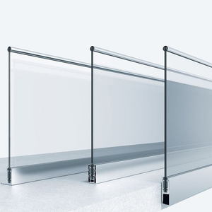 Top Grade Stainless Steel glass handrail/terrace railing/balcony stainless steel railing