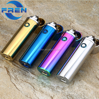 2018 Newest cigar pipe lighter electronic flameless USB lighters & smoking accessories lighters