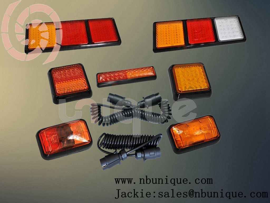 auto truck trailer wire harness connector module,lights and wire line are changeable