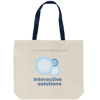 Cheap Promotional Cotton Bag With Logo Custom