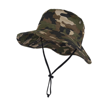 Unisex Men Women Vintage Camo Custom Bucket Hat With String - Buy ... 3a7380a7f23