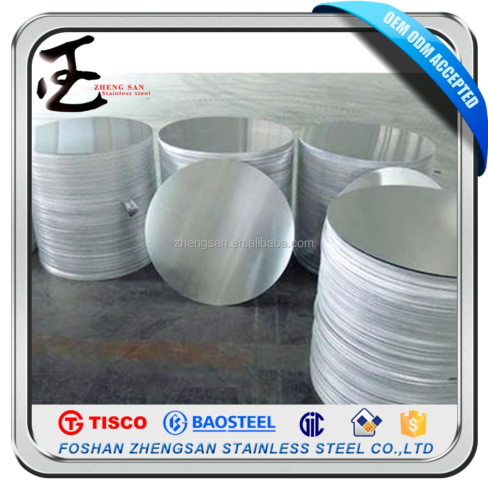 factory price 410 grade stainless steel circle