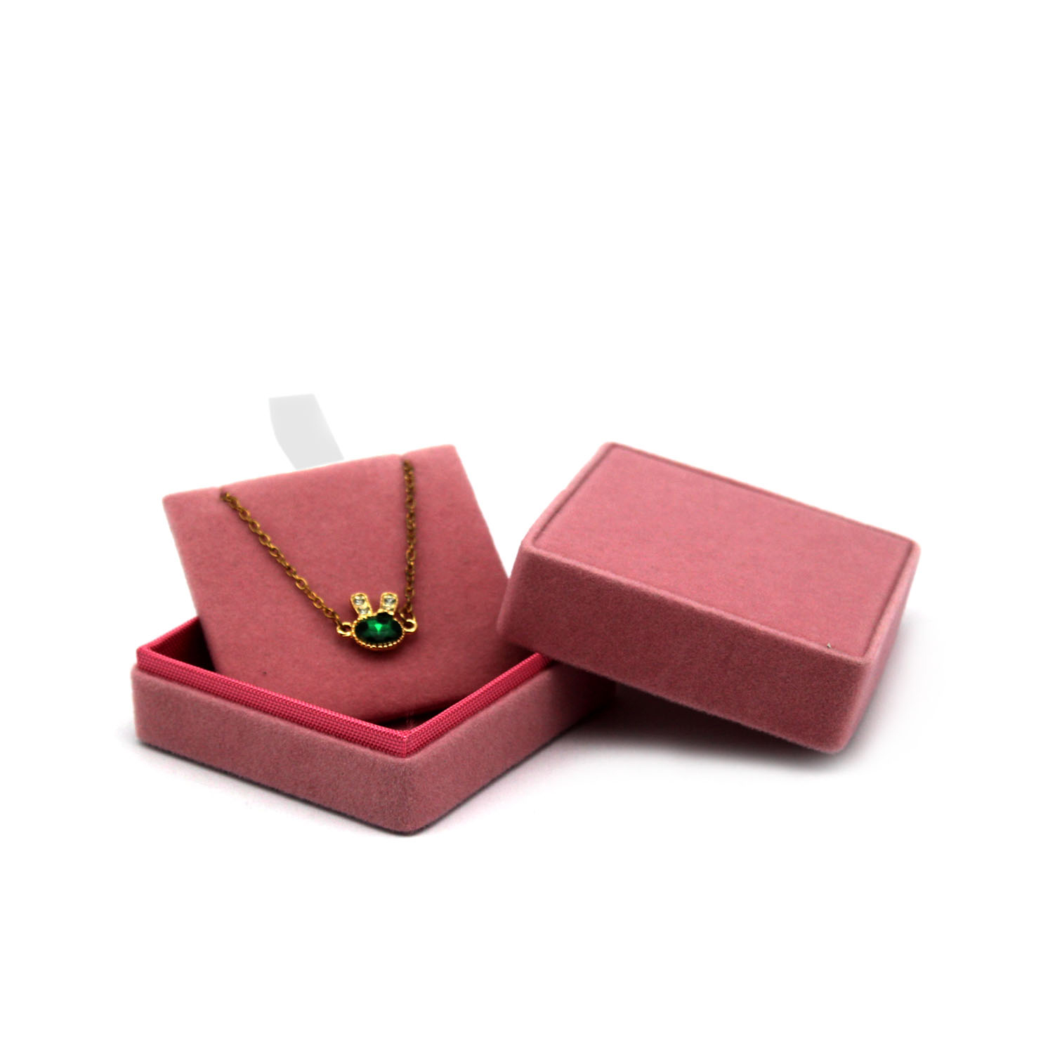 mirror box  velvet  custom logo   earring organizer  ring box  leather jewelry packaging box