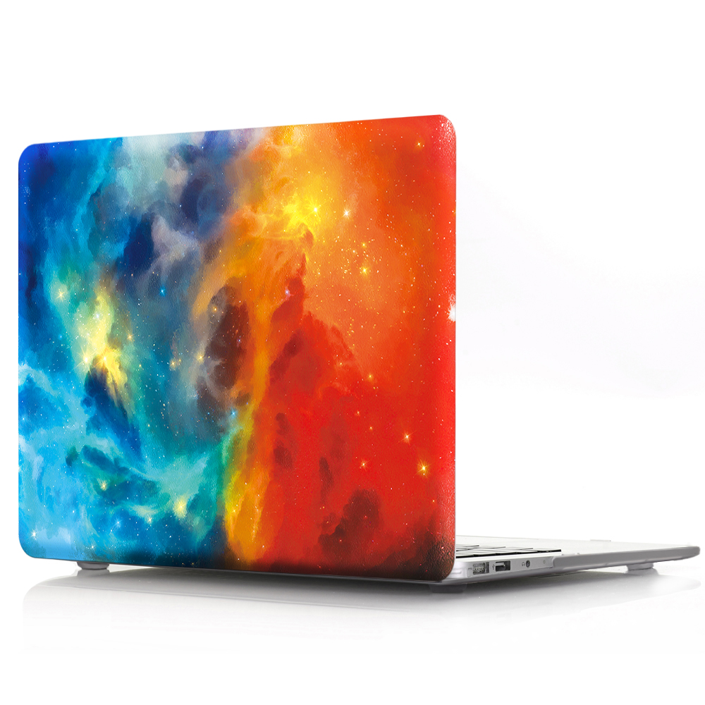 2018 Hot Galaxy Pattern Design Hard Shell Cover for <strong>Apple</strong> Model A1369 and A1466 Macbook Air 13 inch Case