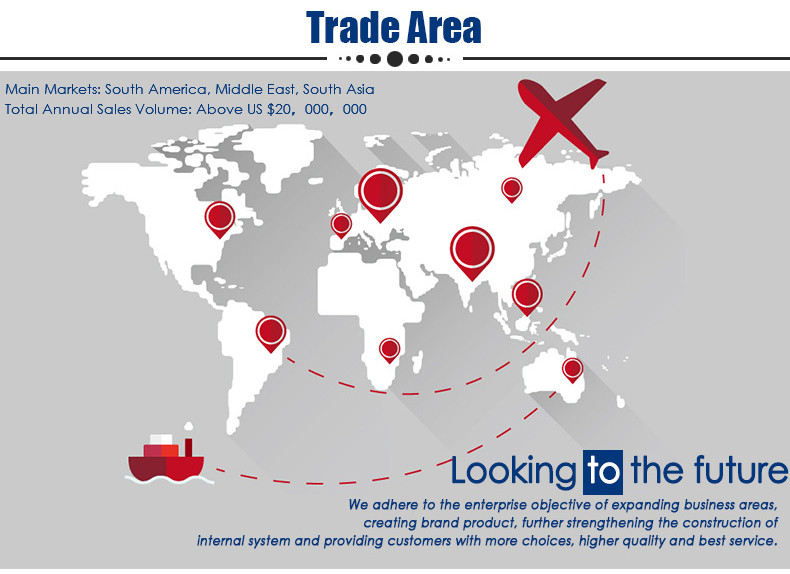 About trade area: