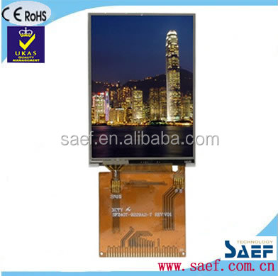 2.4 Inch QVGA TFT LCD Display 240x320 Resolution with resistive touch screen TFT module