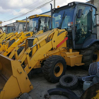 Second hand heavy Eqipment Used machine original J C B 3CX 4CX vertical backhoe loader for sale cheap price high quality