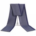 Autumn and Winter Popular Herringbone Mens Scarf Oversized Thick Shawl Double Sided Use Autumn Winter Scarves