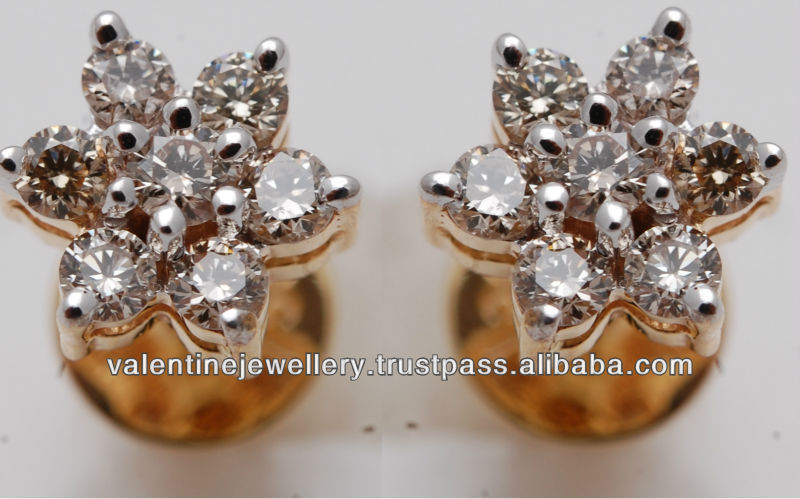 11577e63d39 Diamonds Cluster Ear Tops