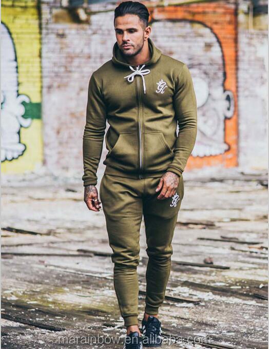 Mens Slim Fit Full Zip Hoodie Tracksuit Camo Joggers Pants Bottoms Jacket Top