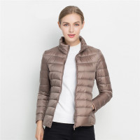 packable women ultra light weight down jackets for winter ladies down jacket wear