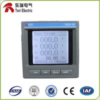 Three phase active & reactive electronic LCD energy meter /electricity PD204Z-9SY