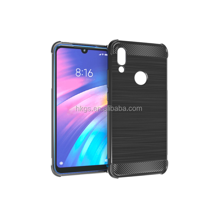 Anti Shock Soft TPU Back Cover Case For Xiaomi Redmi Y3