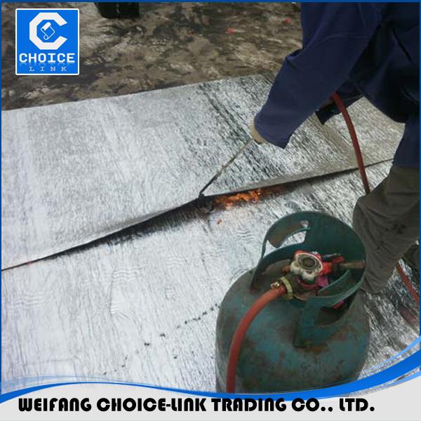 Waterproofing Concrete Roof Aluminium Foil Waterproof Asphalt Membrane
