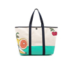 Environmental Fashionable Large Canvas Printed Beach Tote Bags