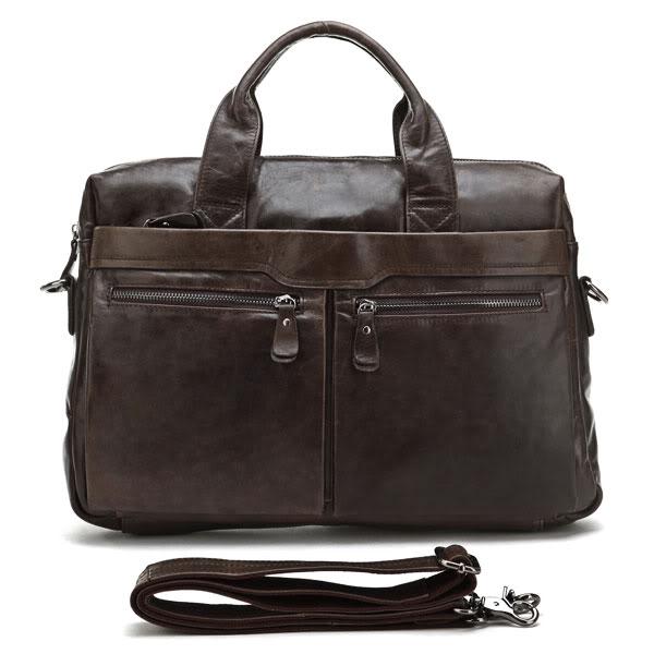 Hot Sale Men's Briefcase Messenger Handbags Guarantee Genuine ...