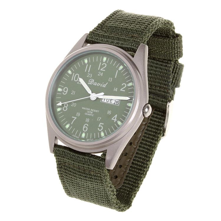 dfdb3199d8d3 Complete Calendar Mens Watches Top Brand Luxury Canvas Military Quartz  Watch Relogio Masculino Montre Homme De