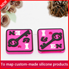 custom design promotion silicone soft pvc led key cap key cover