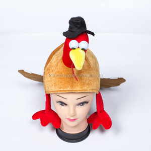 wholesale thanksgiving party animal turkey hat FGH-1155