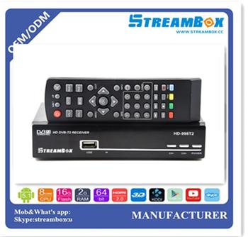 Streambox Dvb-t2 Micro Usb Tv Tuner Dvb-t2 Tv Box