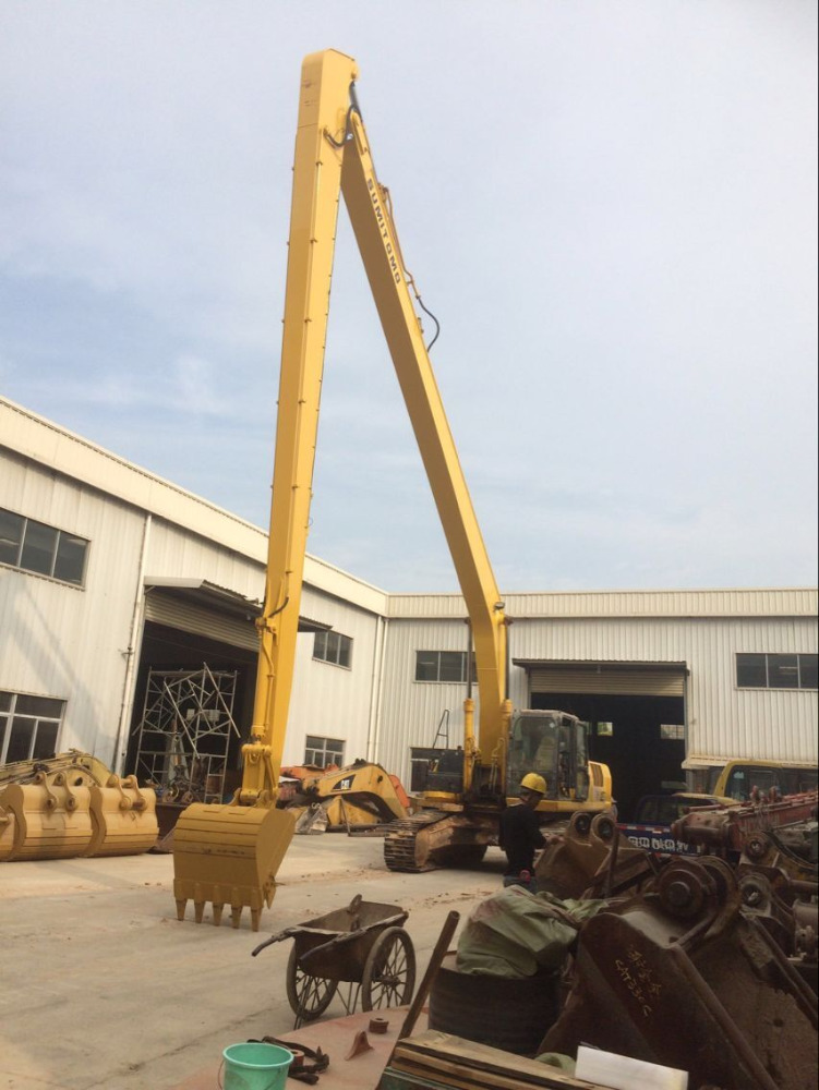 excavator PC120/PC150 long reach boom arm with excavator bucket cylinder