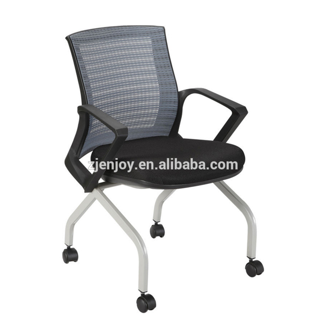 4 Legs Mesh Back Office Training Chair/Meeting Chair with Wheels KB-8915D