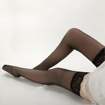 Sexy girls in nylon stockings