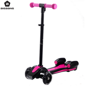 BIGBANG HANGZHOU Three Wheel Smart Balance Electric Scooter 2017 new scooter sprayer rocket kids kick scooter for sale