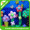 Magic flower shaped latex balloons with different style
