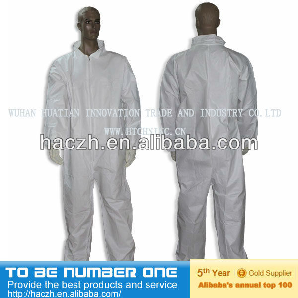 Microporous CAT III Type5/6 Certified Multi-purpose Disposable protective coverall for painter