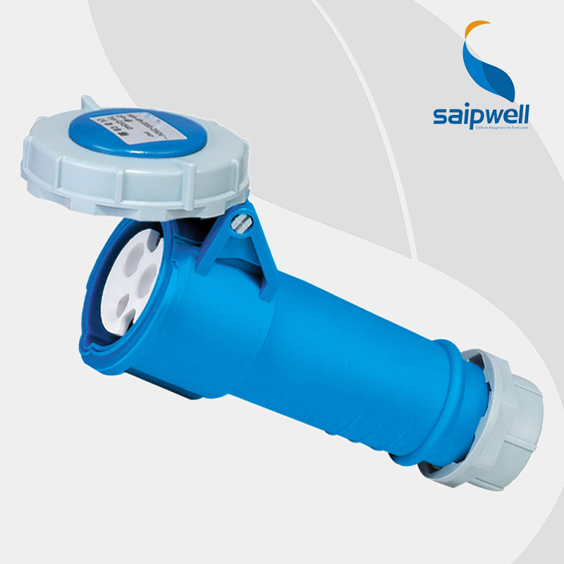 Wholesale Saipwell IP44 weatherproof socket outlet 3P (2P+E) 63A 400V EN / IEC 60309-2 multi pin round plug sockets SP1245
