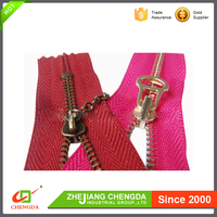 CHENGDA Cheap Price Small 2 Way Zipper For Children