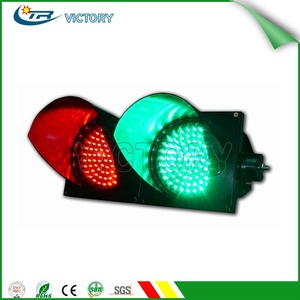 High intensity LED PC housing traffic signal light