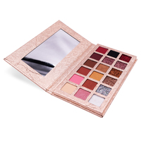 Private Label Factory Price 18Colors Eye Shadow Plate Really Sparkly Vegan Shimmer Matte Eyeshadow Cosmetic