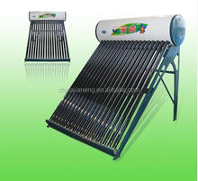 2015 hot selling New design low pressure gas compact solar water heater home solar systems