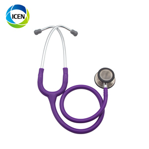 IN-G008 Medical gynecological deluxe stethoscope with amplifier pinard  cardiology dual single head stethoscope