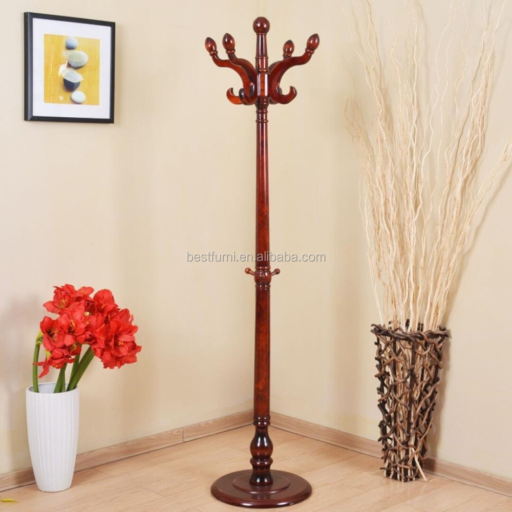 Hot Sale Wooden Coat Hanger Stand